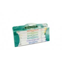 Lot de 6 boîtes d'encens Bien être - Aromathérapie